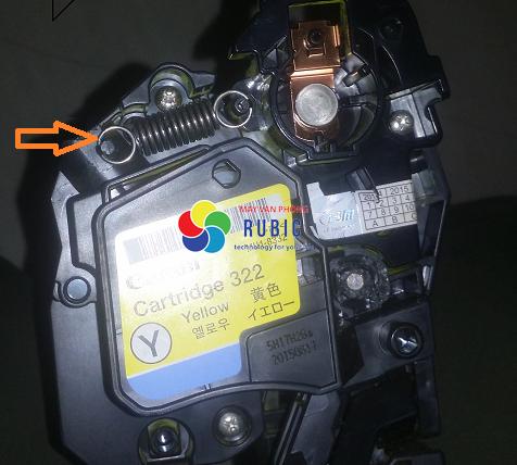 Cách đổ mực máy in màu Canon Lbp9100Cdn